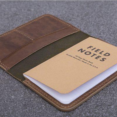 Taupe-Leather-Companion | JSYLEATHERWORKS