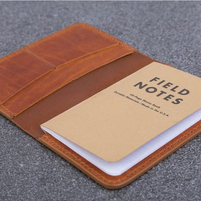Burnt Tan Leather Companion | JSYLEATHERWORKS