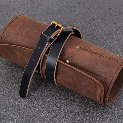 Leather-Brown-ToolRoll | JSYLEATHERWORKS